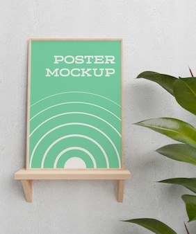 Poster innerhalb fotorahmen modell innenraum