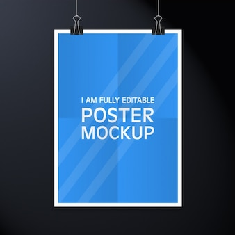 Poster mock-up-design