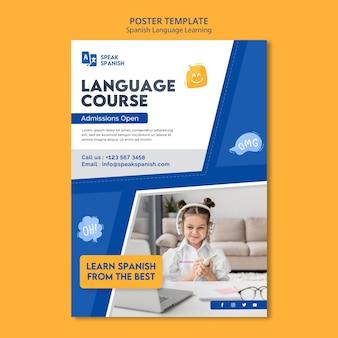 Poster zum spanischlernen