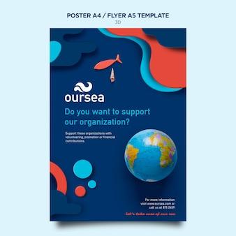 Postervorlage für den workshop zur meeresumwelt