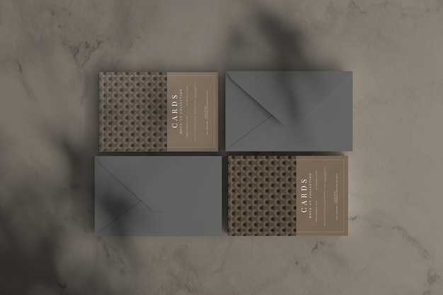 Postkarte oder einladungskarte modell mit flachen ecken