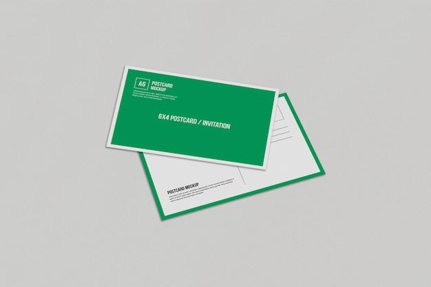 Postkartenmodell