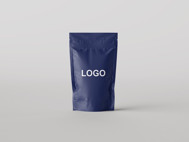 Pouch bag mockup