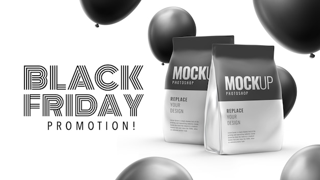 Pouch food promotion black friday