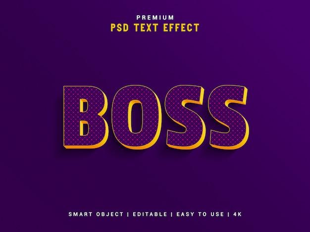 Premium boss text effect maker