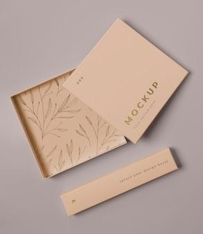 Premium-verpackungsmodell-sortiment