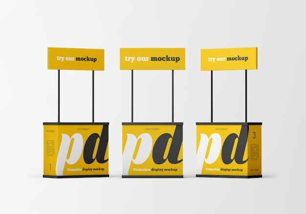 Promotion-display-modell