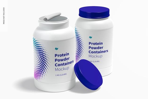 Proteinpulverbehälter modell