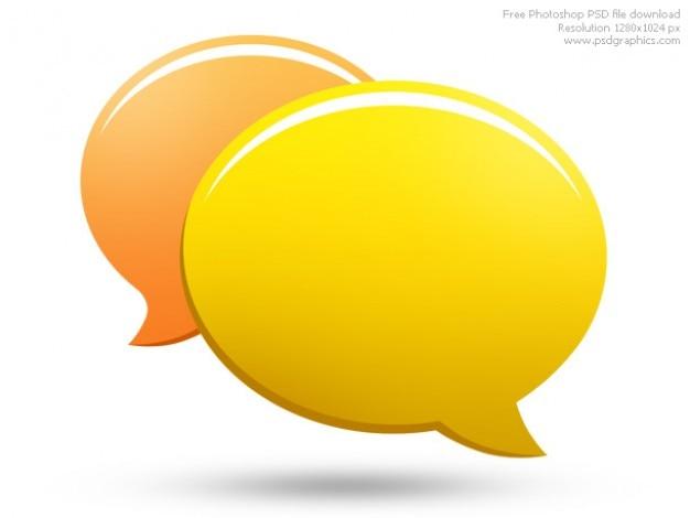 Psd-chat-symbol