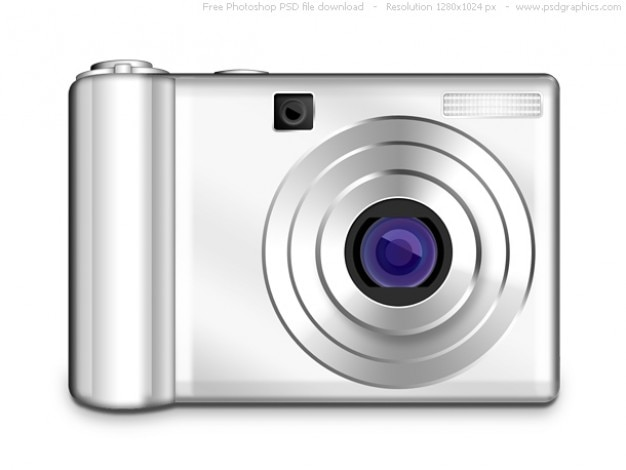 Psd digitale foto-kamera-symbol