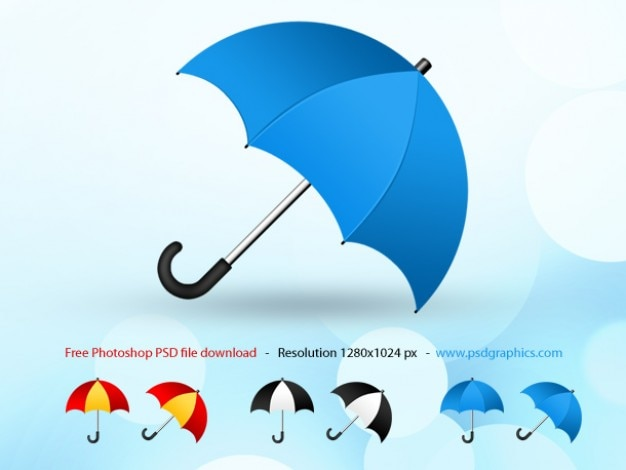 Psd regenschirm-symbol