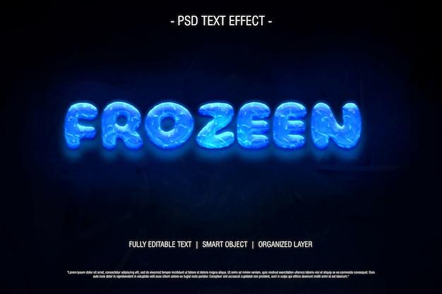 Psd text effekt editierbar eingefroren