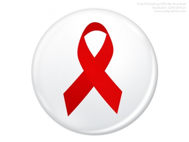 Psd welt-aids-tag badge