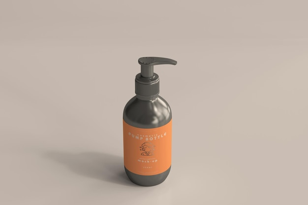 Pumpflaschenmodell
