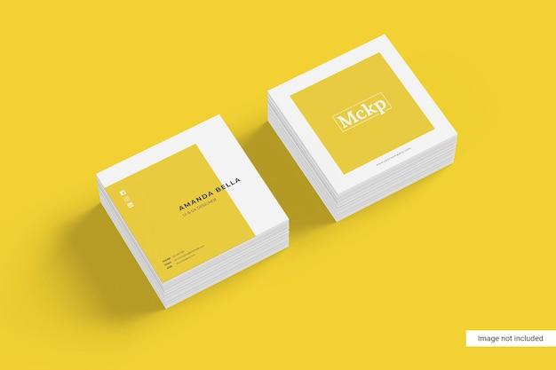 Quadratische visitenkarte