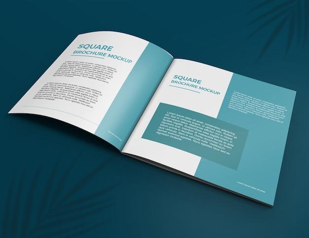Quadratisches broschürenmodell Premium PSD
