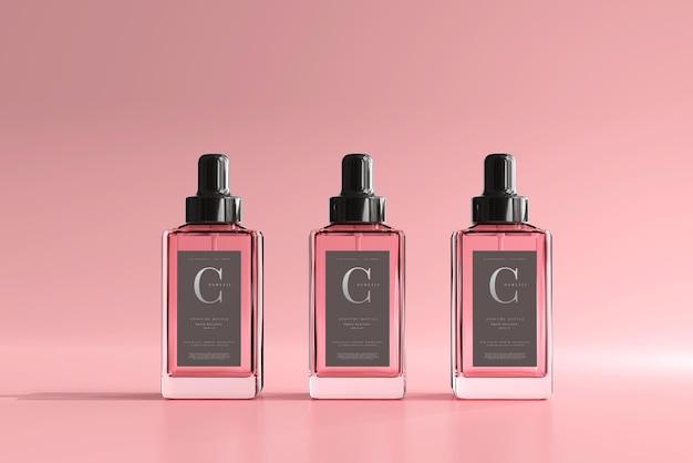 Quadratisches parfümflaschenmodell