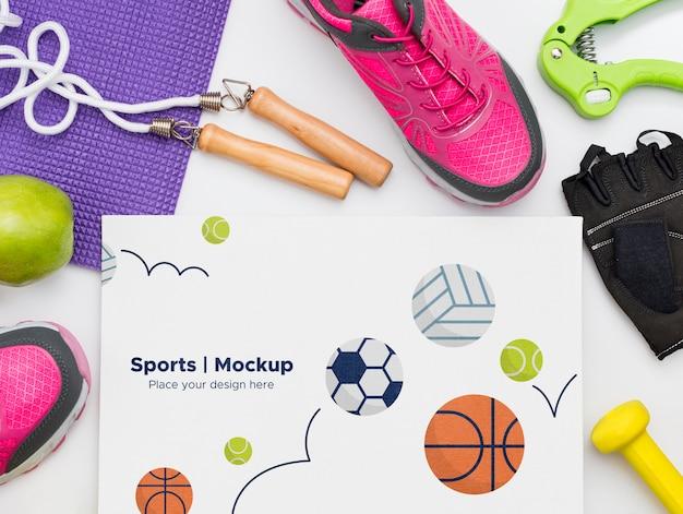 Rahmen der sportausrüstung