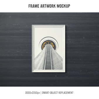 Rahmengrafik mock up