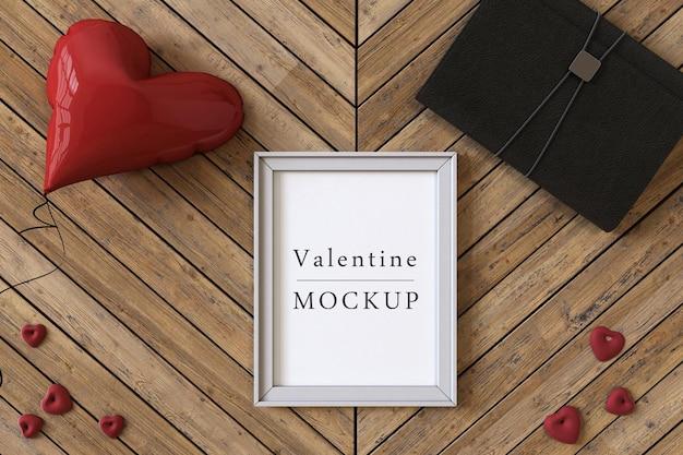 Rahmenmodell mit komposition von valentine-objekten
