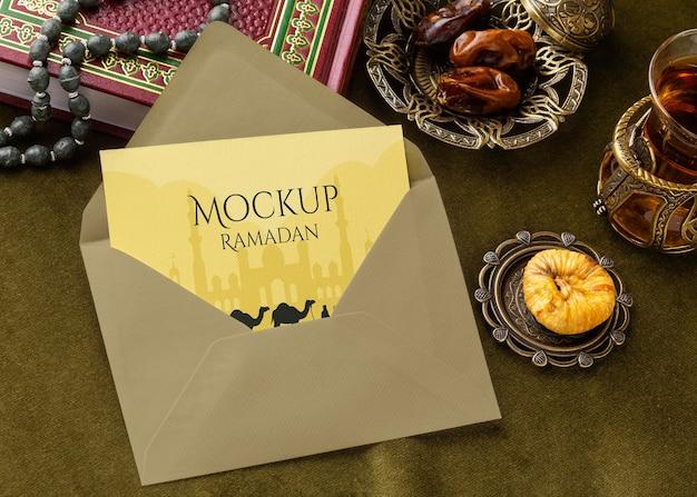 Ramadan-druckdesign-modell
