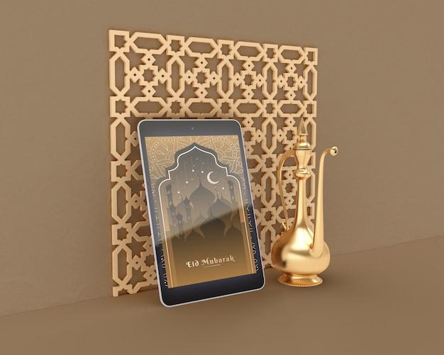 Ramadan kareem konzept modell