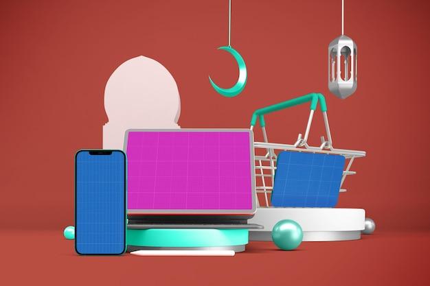Ramadan responsive shopping-modell