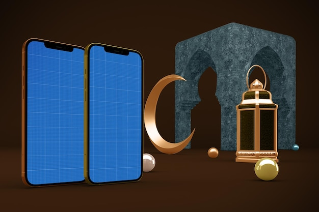 Ramadan smartphone-design-modell