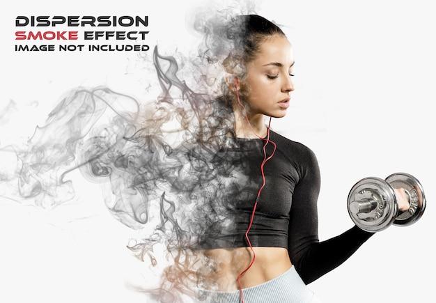Rauchdispersion fotoeffekt modell