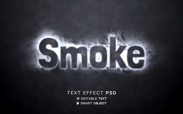 Rauchtexteffekt schreiben