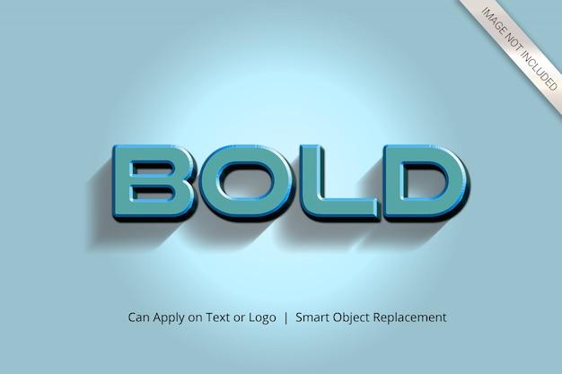 Realer filmischer effekt des text-3d