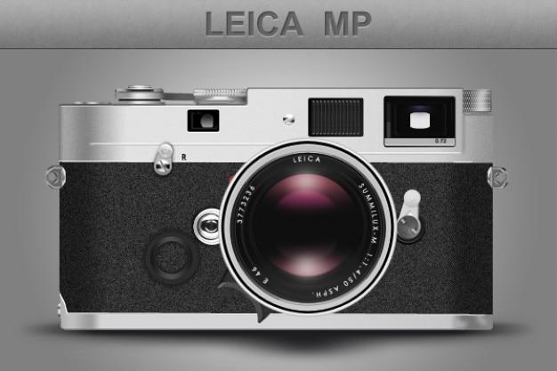Realistisch retro analogen leica camera