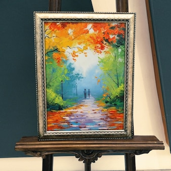 Realistische malerei präsentation