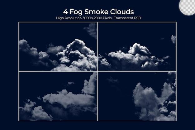 Realistischer nebeldampf nebelwolken se