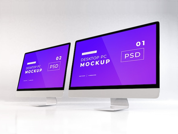 Realistischer personal computer