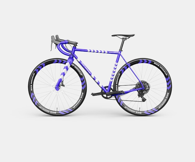 Realistisches bike mockup