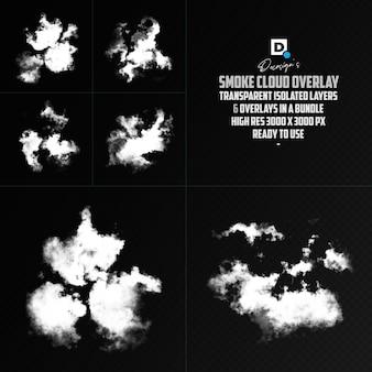realistisches cloud smoke overlay-rendering