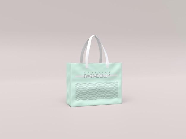 Realistisches einkaufstaschenmodell