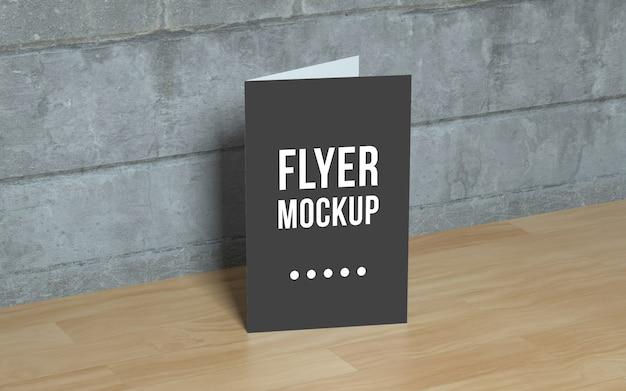 Realistisches flyer-modell