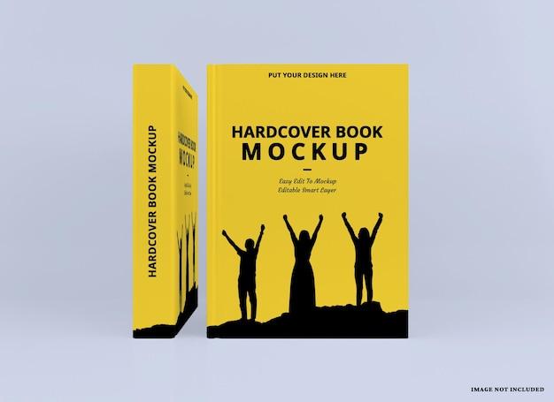 Realistisches hardcover-buchmodell