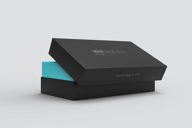 Realistisches smartphone-box-modell