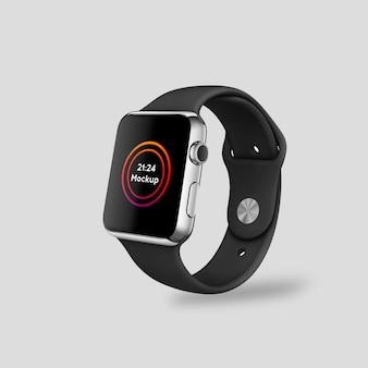 Realistisches smartwatch-modell