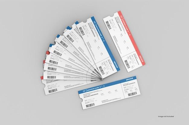 Realistisches ticketmodell