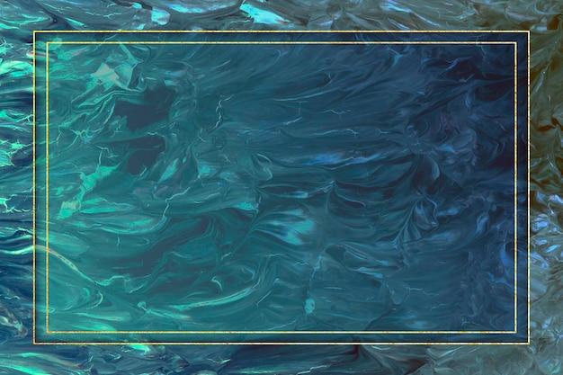 Rechteckrahmen auf abstrakter hintergrundillustration