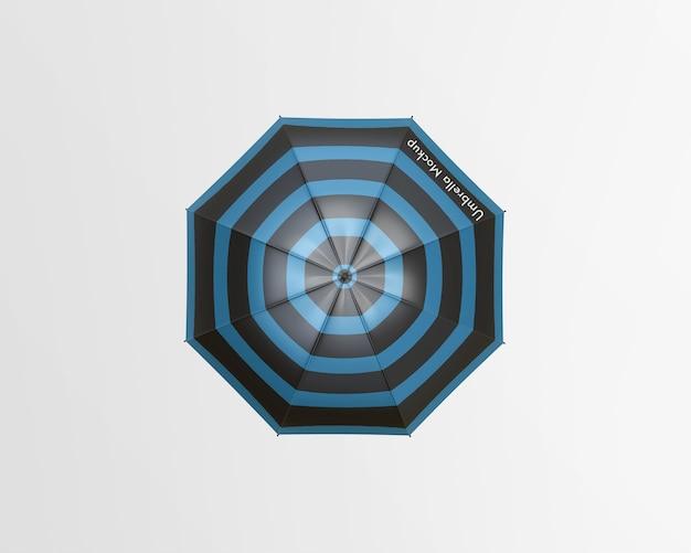 Regenschirmmodell isoliert