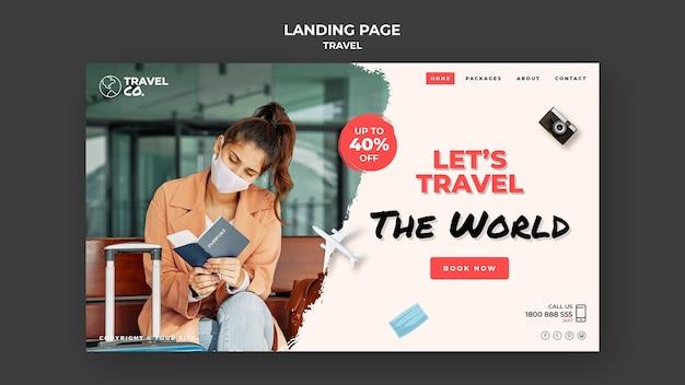 Reise-landingpage