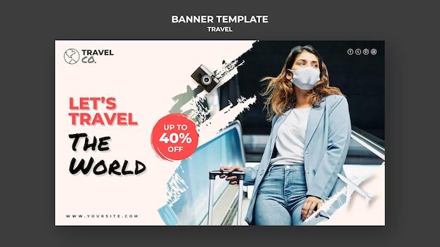 Reisebanner-vorlage