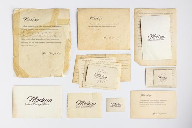 Ressourcen für die sammlung von vintage-schreibwaren