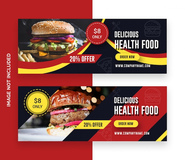 Restaurant facebook-cover-banner-design