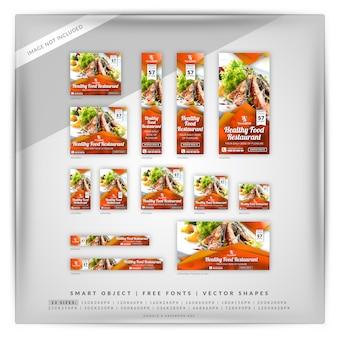 Restaurant-marketing-anzeigen von google und facebook